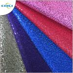 High Quality Glitter Pu Mesh Good Synthetic Leather For Lady Shoes Meter Price