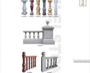 China Granite Stone Railing Handrail on sale