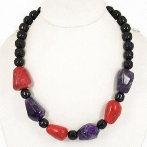 China Hematites magnético/collar de la gota, piedra de la naturaleza con el hematites para la hembra, joyería de la energía on sale