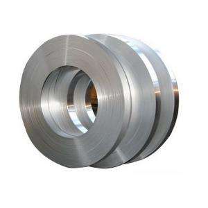 China Ss201202 303 304 Stainless Steel Band , Cold Rolled Steel Strips For Gas Turbine on sale