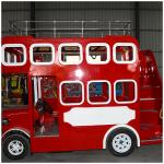 electrical kids double deck bus tourist bus for sale for london bus
