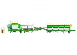 China Professional Mobile Asphalt Drum Mix Plant Multi - Function Burner on sale