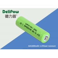 +50 Degree High Temperature Rechargeable Battery AA 1600mAh
