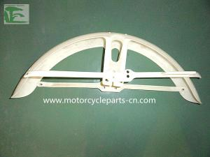 China Custom Honda Motorcycle Parts ABS Red Plastic Fender Blue Plastic Front Fender on sale