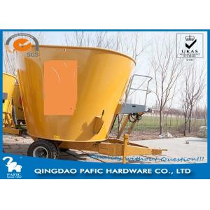 China Tulip Vertical Mixer Animal Feed Wagon Loading capacity 3000kgs for Pasture on sale