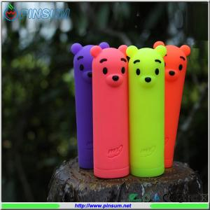 China 2600mAh Winnie the Pooh Plush Toy bear power bank with water proof, shock proof on sale