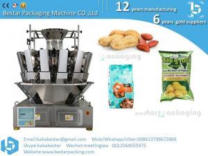 China Automatic vacuum packing machine for cashew nutspeanutscandies and snacks supplier