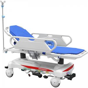 China Medical Emergency Patient Transfer Trolley Folding Stretcher SAE - TC - 03 Model on sale