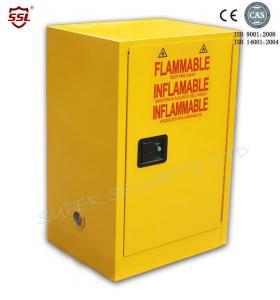 China Portable Lockable Safety Solvent / Fuel Flammable Storage Cabinet For Class 3 Liquids on sale