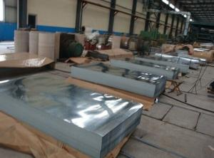 China SGCC SGLCC DX51D Galvanized Metal Sheets ASTM A653 HDG Steel For Roofing  on sale