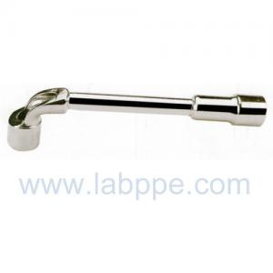 Quality L1108-Embossed L milling Wrench L Socket Wrench bar L-TYPE HANDLE L Crow bar tire wrench for sale