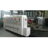 flexo printing machine, flexo printing slotting machine, printing press machine, carton flexo printing machine