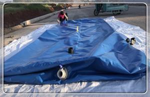 China 200-20000 liter Inflatable Bladder plastic large pvc/tpu pillow flexible water storage tank on sale