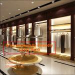 Nice modern retail men's clothing store interior design