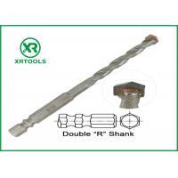 Double R Hex Shank Metric Masonry Drill Bits Multi Purpose For Wood / Metal