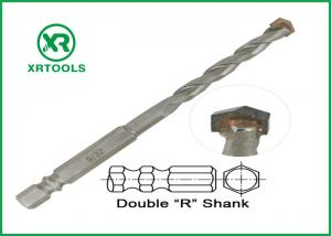 China Double R Hex Shank Metric Masonry Drill Bits Multi Purpose For Wood / Metal on sale