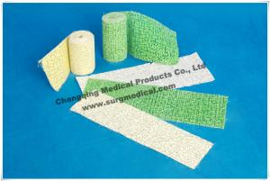 China White Gypsum Casting Plaster Bandage / Splint / Piece Fast Setting Easy Operation on sale