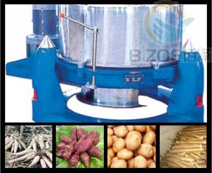 China Saving water/20 years experiences/free train/ss cassava flour machine on sale