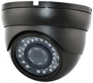 China CMOS 2.5'' Wide Angle 420TVL - 700TVL Fixed Plastic IR Security Dome Cameras on sale
