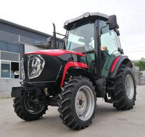 China Small Farm High Efficiency Tractor 4WD Good Reliability Low Fuel Consumption on sale