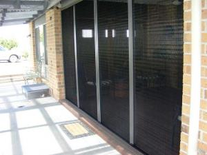 China China factory Barrier-free fly screen doors / Trackless flyscreen door for sale on sale