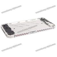 New Diamond Edged Electroplating Metal Mid Bezel Frame Plate for iPhone 4S