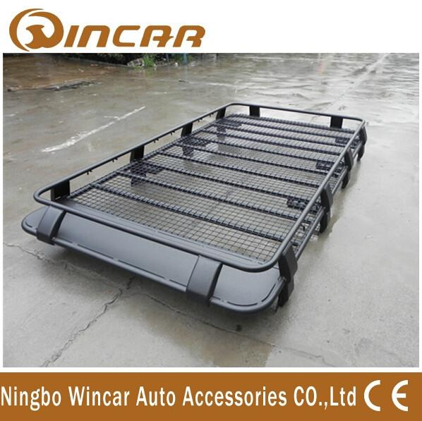 High Capacity 300kg Car Roof Racks Lightweight Carrier