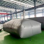 500L - 80000L PVC  Flexible Water Tank , Blue Water Bladder For Storage