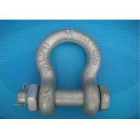 China High Strength Forged Shackle Used for Tract Wire Rope and Other Tools in Construction on sale
