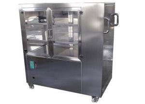 China Horizontal Laminar Airflow Clean Room Trolley Powder Coated Steel Material on sale