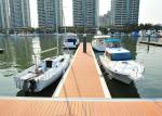 Floating Pontoon Bridge Aluminum Structure Bridge Boat Dock For Marina Yacht