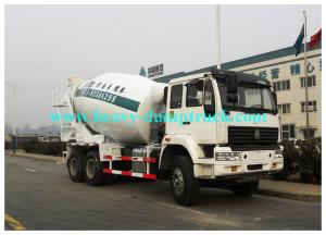 China HOWO Concrete Mixer Truck 6m3 tank 6X4 for construction cement bulk truck on sale