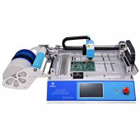 29 Feeders 2 Heads CHMT48VA Desktop Automatic SMD / SMT Pick And Place Machine + Double Vision Camera