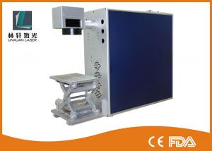 China Jewelry / Stainless Steel Mini Laser Engraver , Portable Fiber Laser Marking Machine on sale
