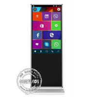 China Full HD 1080P Touch Screen Terminals LCD Android Network 3G 4G WIFI 49'' Floor Stand on sale