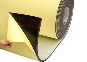 China Self Adhesive HVAC Insulation Foam 13 - 25mm Thickness Long Service Life on sale