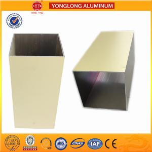 China Colourful Powder Coated Aluminium Extrusions Lenth Or Shape Customized on sale