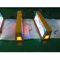 China Easy installation taxi led advertising sign , wireless taxi top sign on sale
