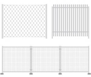 China Galvanizado, sistemas de acero cubiertos PVC de la cerca de la malla móvil para las piscinas, residenciales on sale