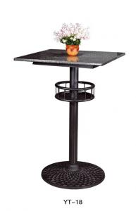 China Iron steel Round table leg, tablebase in coffee shop  (YT-18) on sale