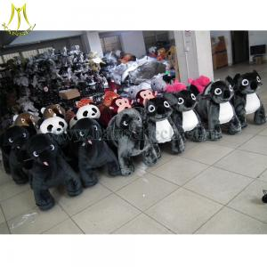 China Hansel 2016 high quality coin operated ride on costumes 12 volt ride on toys style plush animal electric scooter on sale