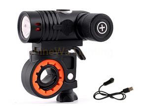 China Outdoor Front Bike Light With Mount By Magnetic USB Charger For Running on sale