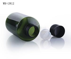 Quality 50ml 100ml 150ml 200ml oil bottle,plastic cosmetic oil bottle with aluminum cap for sale