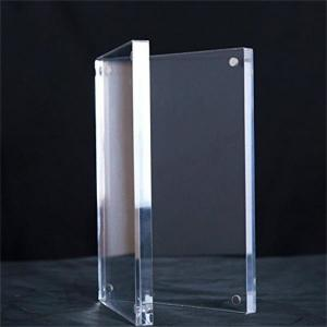 China Transparent Acrylic Magnetic Photo Block, Magnet Connecting Acrylic Photo Frame on sale