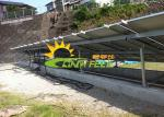 Engineered Design Ground Mounted Pv Systems , Anodized Solar Racking System