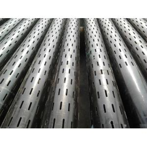 China Slotted Casing Pipe from BORUN PETROLEUM PIPE FACTORY CHINA on sale