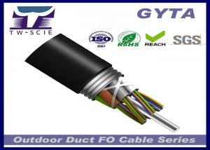 China High Quality Armoured custom core metallic strengthen member outdoor cable GYTA on sale