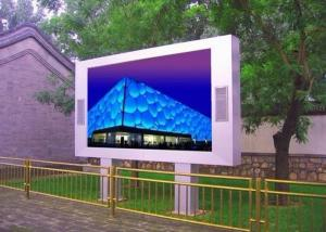 China Full color waterproof P8 Outdoor SMD LED Display RGB , led wall screen for advertising on sale