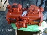 Kawasaki K3V112DTP hydraulic piston pump/main pump in swash plate design for excavator