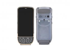 China Touch Screen Android Mobile Handheld PDA with Optional Thermal Printer / Fingerprint Reader on sale